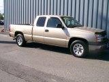 2005 Sandstone Metallic Chevrolet Silverado 1500 Extended Cab #1085689