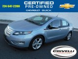 2013 Silver Topaz Metallic Chevrolet Volt  #109834728