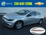 2016 Silver Ice Metallic Chevrolet Malibu LS #109834726