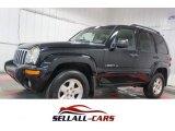 2002 Black Jeep Liberty Limited 4x4 #109834285