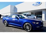2016 Deep Impact Blue Metallic Ford Mustang EcoBoost Coupe #109834557