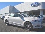 2016 White Platinum Tri-Coat Metallic Ford Fusion Titanium #109834552
