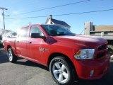 2015 Flame Red Ram 1500 Express Crew Cab 4x4 #109872574