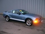 2006 Windveil Blue Metallic Ford Mustang V6 Premium Coupe #1093590