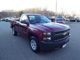 2014 Deep Ruby Metallic Chevrolet Silverado 1500 WT Regular Cab #109872792