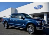 2016 Blue Jeans Ford F150 XLT SuperCrew 4x4 #109872550