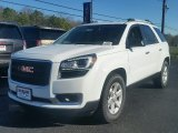 2016 Summit White GMC Acadia SLE #109872249