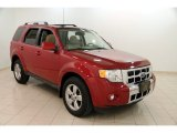 2009 Sangria Red Metallic Ford Escape Limited V6 4WD #109872686