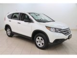 2013 White Diamond Pearl Honda CR-V LX AWD #109872749