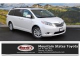 2016 Blizzard Pearl Toyota Sienna Limited Premium AWD #109872295