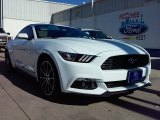 2016 Oxford White Ford Mustang EcoBoost Premium Coupe #109908646