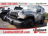 2016 Billet Silver Metallic Jeep Wrangler Unlimited Willys Wheeler 4x4 #109908716