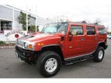 2003 Sunset Orange Metallic Hummer H2 SUV #10975926