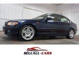 2003 Mystic Blue Metallic BMW 3 Series 330i Sedan #109908540