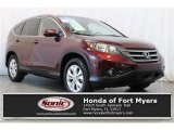 2013 Basque Red Pearl II Honda CR-V EX-L #109908614