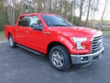2016 Race Red Ford F150 XLT SuperCrew #109908991
