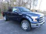 2016 Blue Jeans Ford F150 Lariat SuperCrew 4x4 #109908990