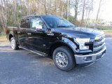 2016 Shadow Black Ford F150 Lariat SuperCrew #109908989