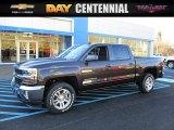 2016 Tungsten Metallic Chevrolet Silverado 1500 LT Crew Cab 4x4 #109908670