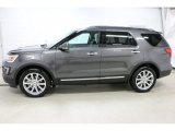 2016 Magnetic Metallic Ford Explorer Limited 4WD #109908501