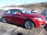 2016 Ruby Red Metallic Ford Fusion Titanium #109946254
