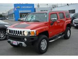 2009 Victory Red Hummer H3  #109946194