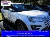 2016 White Platinum Metallic Tri-Coat Ford Explorer Platinum 4WD #109946120