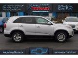 2014 Bright Silver Kia Sorento LX #109946071