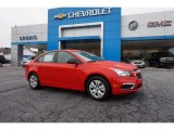 2016 Red Hot Chevrolet Cruze Limited LS #109946373