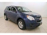 2010 Navy Blue Metallic Chevrolet Equinox LS #109946437