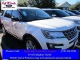 2016 White Platinum Metallic Tri-Coat Ford Explorer XLT #109946094