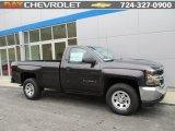 2016 Black Chevrolet Silverado 1500 WT Regular Cab 4x4 #109946045