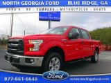 2016 Race Red Ford F150 XL SuperCrew 4x4 #109945972
