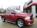 2012 Deep Cherry Red Crystal Pearl Dodge Ram 1500 ST Crew Cab 4x4 #109978719