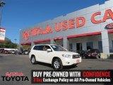 2010 Blizzard White Pearl Toyota Highlander SE #109978572