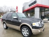 2013 Tuxedo Black Ford Expedition King Ranch 4x4 #109978716
