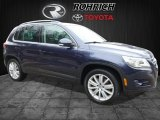 2011 Night Blue Metallic Volkswagen Tiguan SE 4Motion #109978748