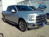 2015 Ingot Silver Metallic Ford F150 Lariat SuperCrew #109978562