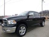 2012 Black Dodge Ram 1500 SLT Crew Cab 4x4 #109978647
