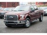2016 Bronze Fire Ford F150 XLT SuperCrew 4x4 #109995363