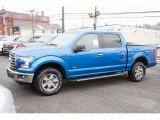 2016 Blue Flame Ford F150 XLT SuperCrew 4x4 #109995359