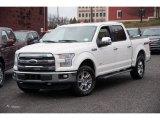 2016 White Platinum Ford F150 Lariat SuperCrew 4x4 #109995356