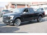 2016 Shadow Black Ford F150 XLT SuperCab 4x4 #109995354