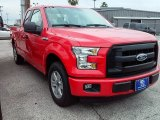 2016 Race Red Ford F150 XL SuperCab #110003706