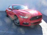 2016 Race Red Ford Mustang EcoBoost Premium Coupe #110003849