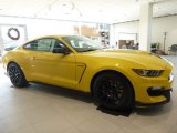 2016 Triple Yellow Tricoat Ford Mustang Shelby GT350 #110003744