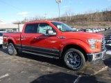 2016 Race Red Ford F150 XLT SuperCrew 4x4 #110003742
