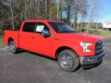 2016 Race Red Ford F150 Lariat SuperCrew #110003916