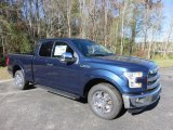 2016 Blue Jeans Ford F150 Lariat SuperCab #110003915