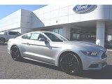 2016 Ingot Silver Metallic Ford Mustang EcoBoost Premium Coupe #110028022